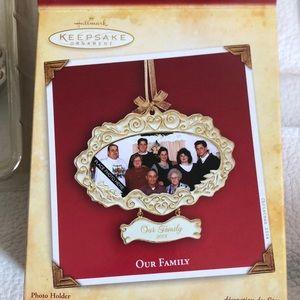 Hallmark Keepsake Ornament Our Family 2004 NWT